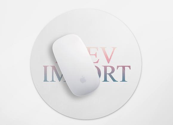 הדפסה על פד עגול לעכבר