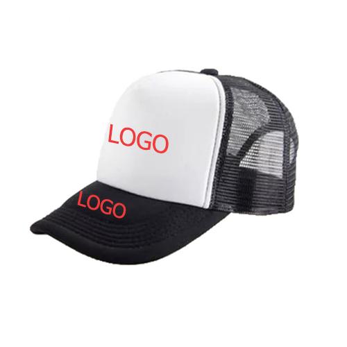 כובע ממותג עם הדפסה של לוגו בית העסק
