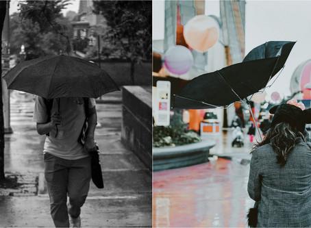 גשם גשם מטפטף - המטריות שחייבים להכיר בחורף הקרוב