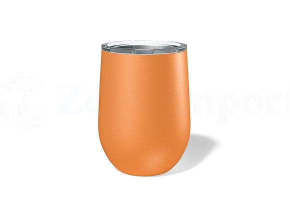 כוס תרמית בצבע כתום