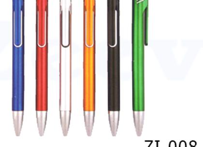 ZI-008 עט כדורי מתאים להדפסה ומיתוג