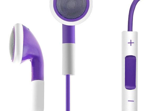 Earphones  אוזניות כפתור לאייפון