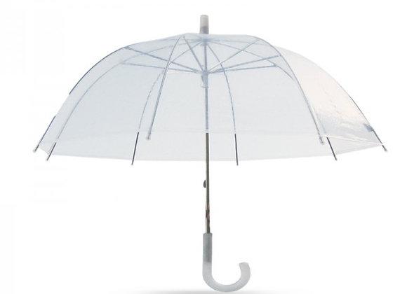מטריה שקופה במיתוג אישי