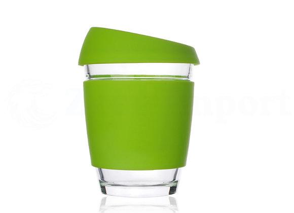 כוס זכוכית ממותגת