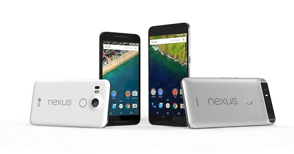 LG NEXUS 5X AND LG NEXUS 6P