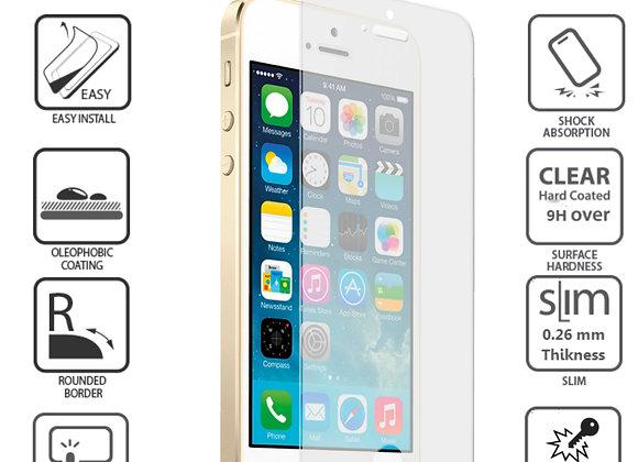 Iphone 5S/5 מגן זכוכית לאייפון