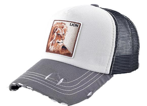 כובע רשת ממותג אריה