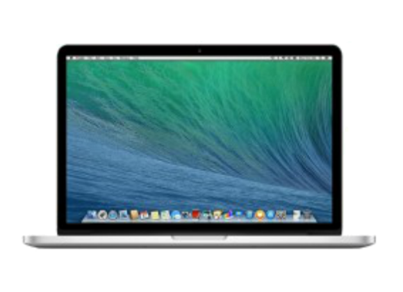 "Macbook Pro with Retina 15"" 2.2GHz 256GB מחשב נייד"
