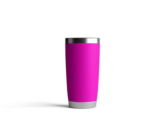 כוס תרמית ממותגת בצבע סגול
