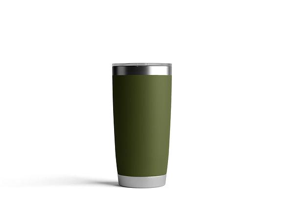 כוס תרמית בצבע חאקי