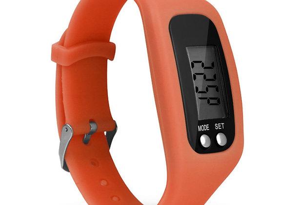 שעון יד פדומטר ממותג בצבע כתום