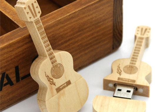 דיסק און קי צורני בצורת גיטרה
