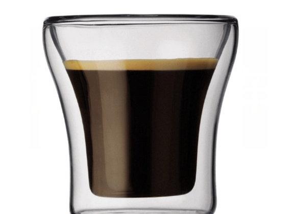 LARA כוס זכוכית בעלת דופן כפולה