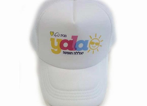 כובע רשת איכותי עם הדפסה צבעונית