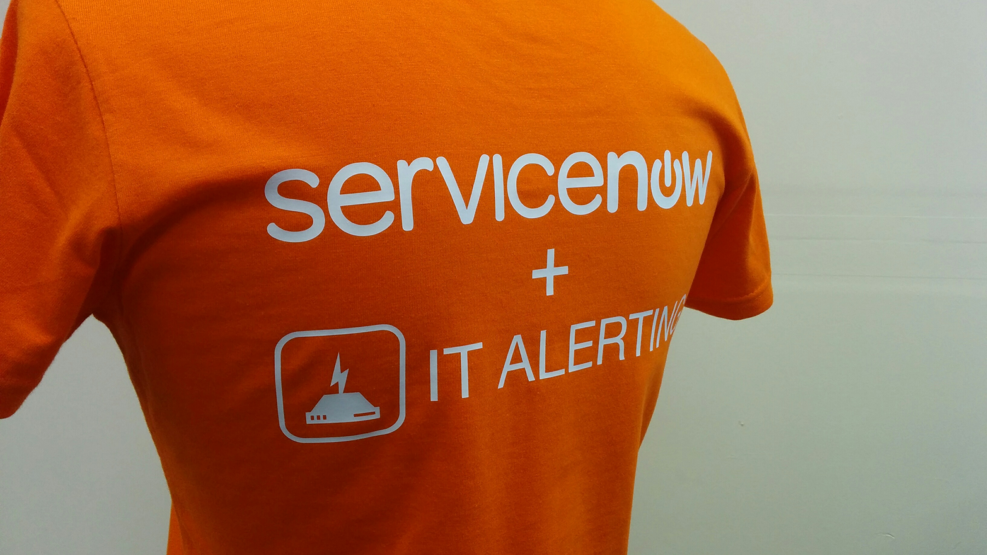 Trade fair staff t-shirts