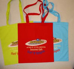 Kowabungas shopper bags