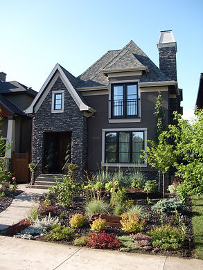 A Calgary house with a backflow device