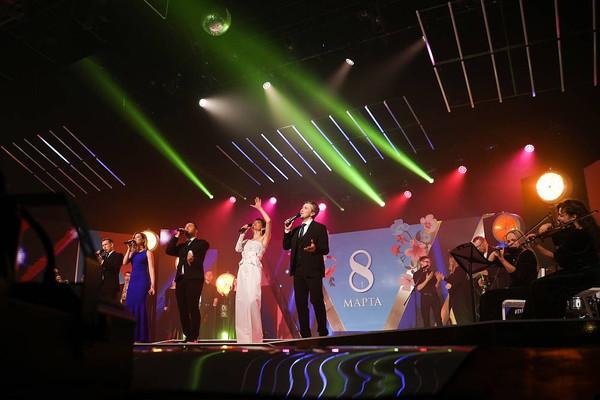 Телеканал «Енисей» покажет концерт к 8 марта