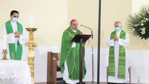 Tomada de posse Pároco Padre Paulo Domingues e Vigário Paroquial Padre João Martins