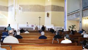 Utentes do Lar Pe. Lobinho retomaram Eucaristia presencial