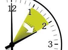 Mudança de hora: horário de verão 2021
