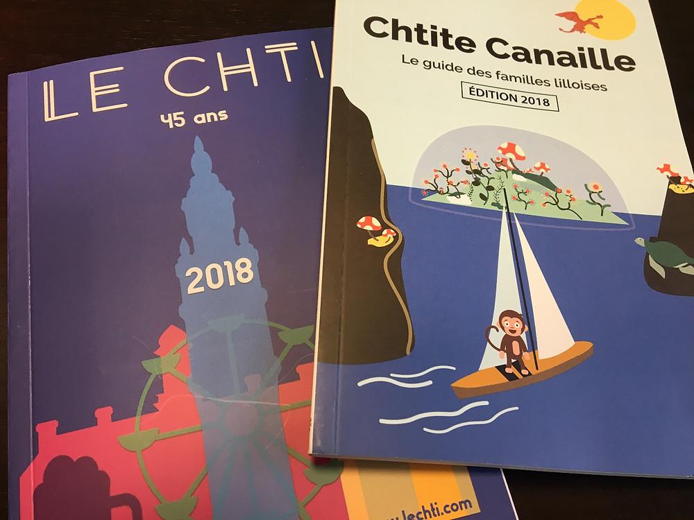 Le guide du CHTI 2018 et Chtite Canaille