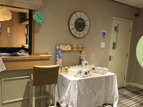 Baby shower in the Priory Garden Function Suite