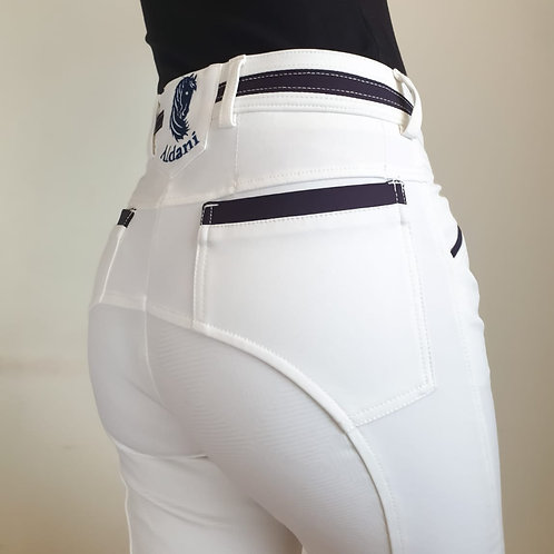 Breech full seat  color blanco