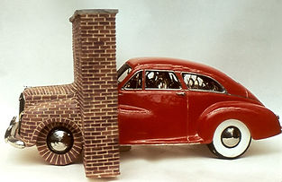Patti Warashina, 1971, Metamorphosis of a Car Kiln.