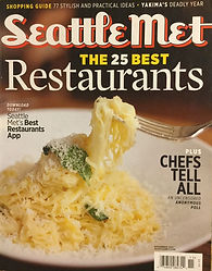 Seattle Met Magazine Cover 11-2011.