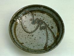 "Stoneware Bowl, 8"", 1976."