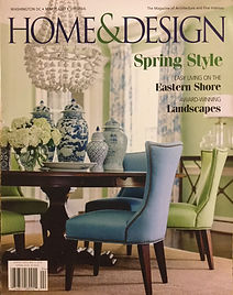 Home & Design Magazine, 5-2016, cover.