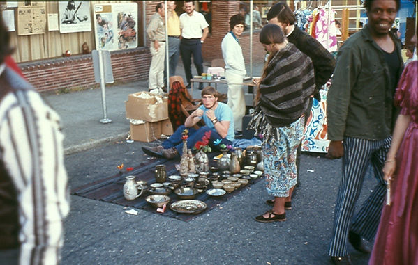 1970, My second University District Street Fair