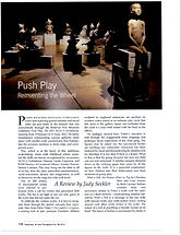 Review of 2012 NCECA Exhibition, Push Play.