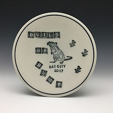 This plate was for Deb and her Rat City Studio.