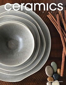 Ceramics Monthly, Oct. 2017, cover.