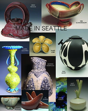 Made In Seattle Exhibition poster.