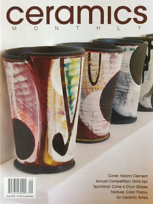 Ceramics Monthly-September-2018- cover.