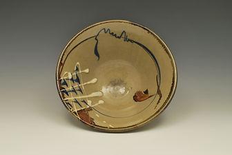 "Stoneware Bowl, 8"", 1974."