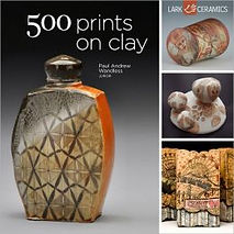 500 Prints on Clay, A Lark Ceramics Book.