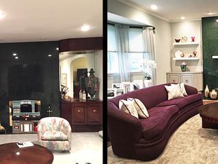 Before & After Livingroom