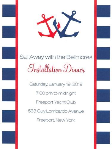 Bellmore Annual Installation  Dinner
