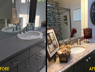 Traditional Bathroom Makeover
