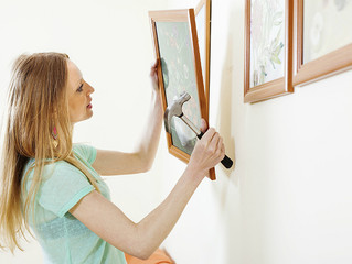 Design tip of the week: Hanging pictures