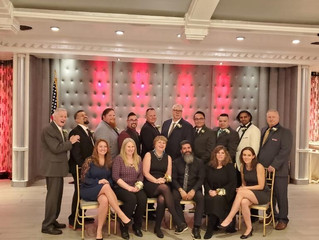 The annual chamber of commerce installation dinner