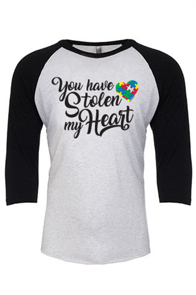 You Have Stolen My Heart Unisex Jersey