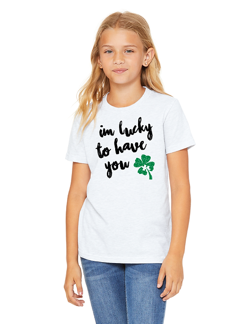 I'm Lucky Clover Youth Tee