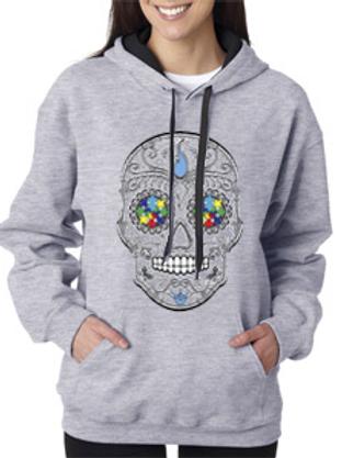 Sugar Skull Unisex Hoodies