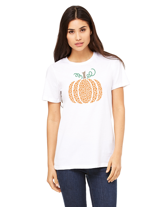 Pumpkin Autism Awareness Ladies Tee