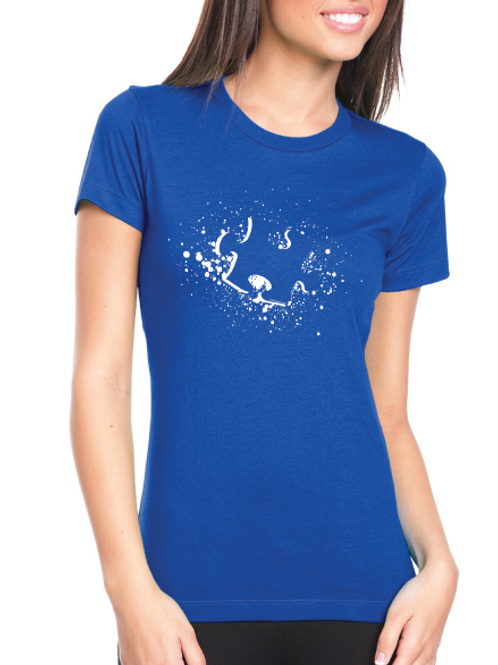 Puzzle Splash Ladies Tee